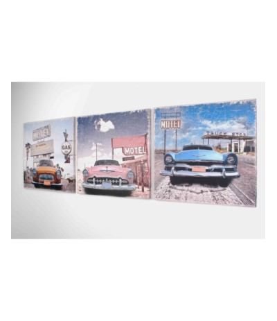 M.Obraz 50/50/1,8cm Motel