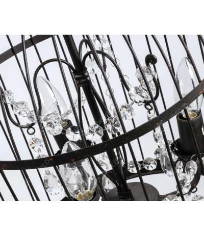 Nero Lampa sufitowa klatka