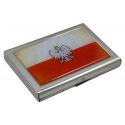 H.Etui do kart kredytowych Flaga
