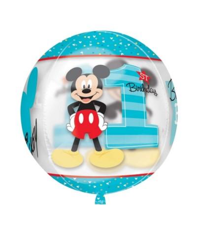 G.Balon foliowy Mickey 1 urodziny