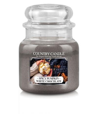 Country Świeca 453g Spicy Pumpkin White Chocolate