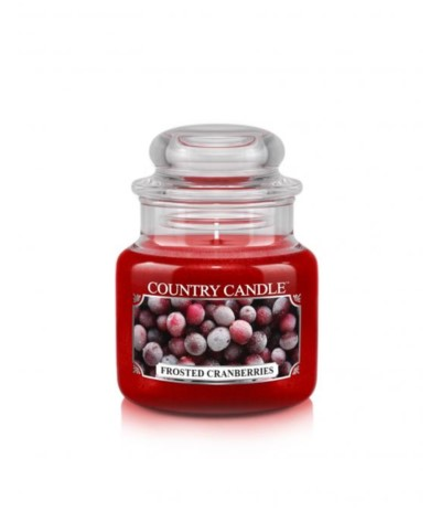 Country Świeca 104g Frosted Cranberries