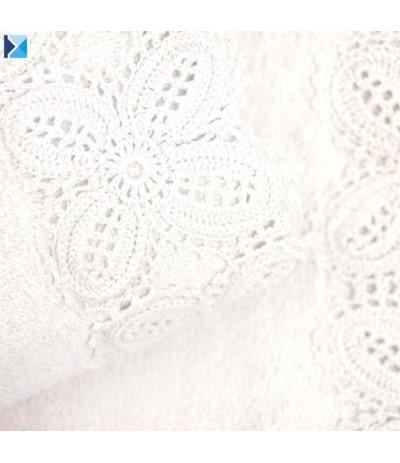 I.Koronka Ula ręcznik 70/140cm biały