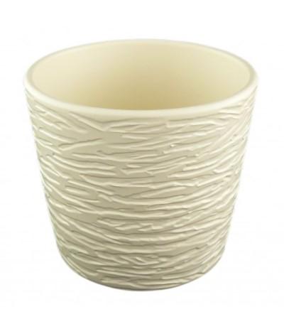 Osłonka ceramiczna strukt 17 krem