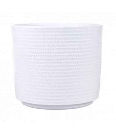 C.Osłonka ceramiczna cylinder12 biała