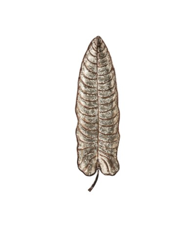 Vintage Decor ścienny liść