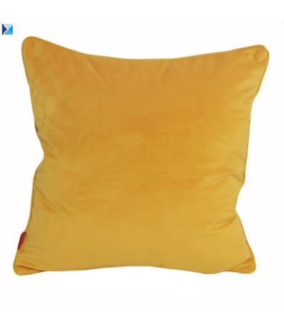 I.Welwet poszewka 45/45cm Żółć
