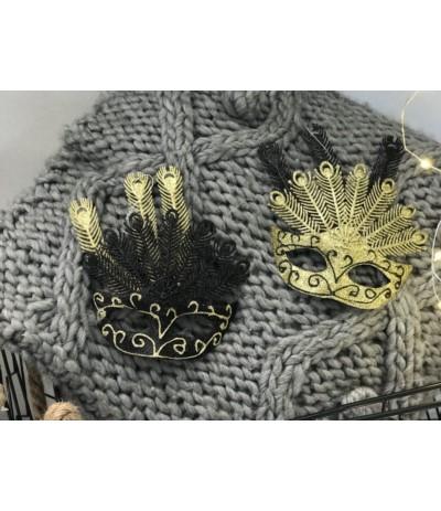 AM Maska czarno-złota B.N.